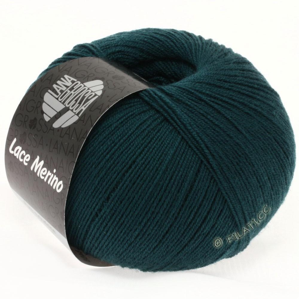 Lana Grossa LACE Merino  Uni уни | 13-тёмно сине-зеленый