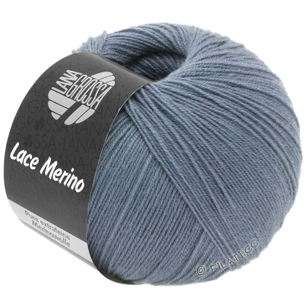 Lana Grossa LACE Merino  Uni уни | 53-светло синий