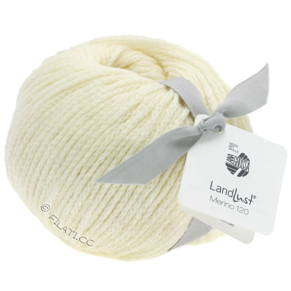 Lana Grossa LANDLUST MERINO 120 | 101-чисто-белый