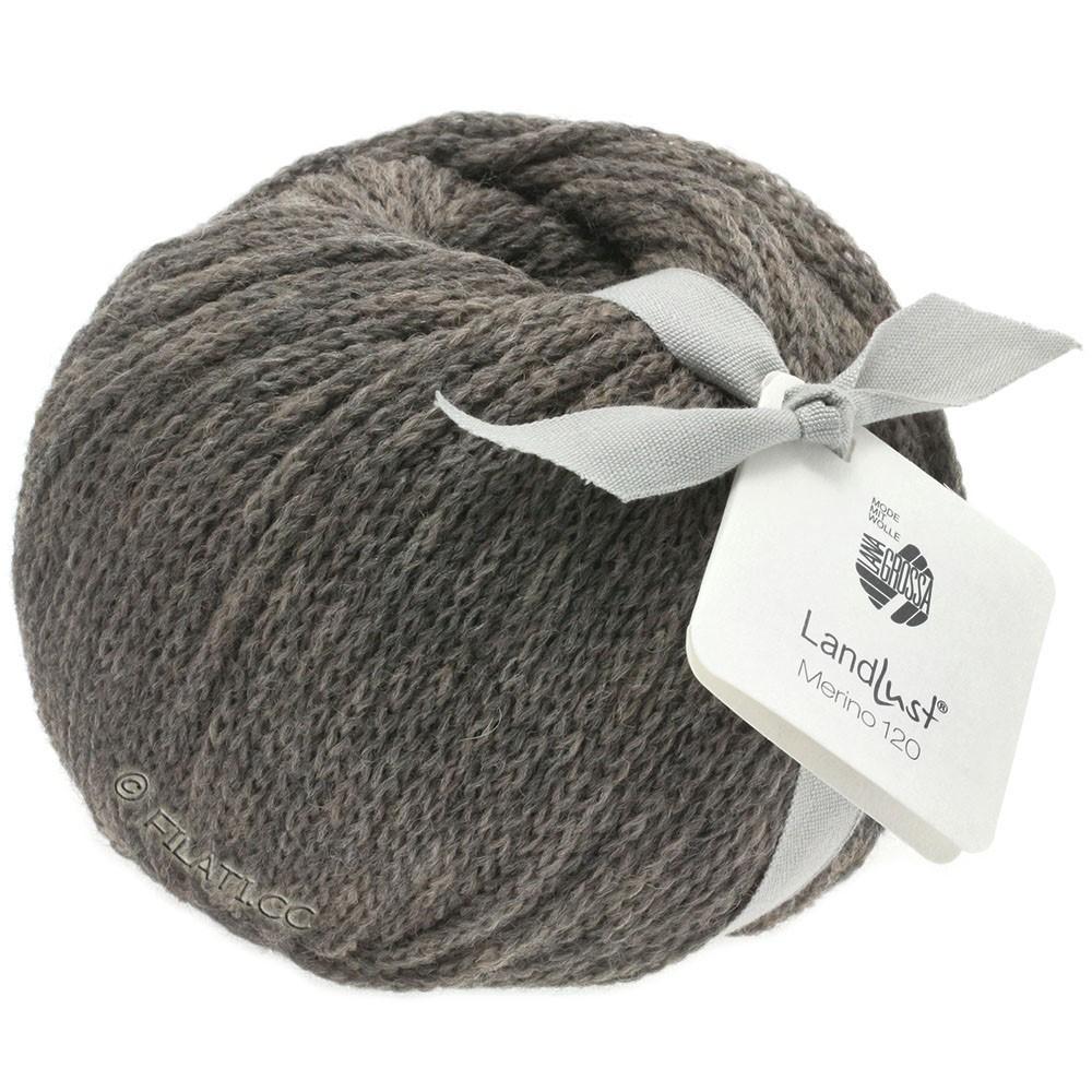 Lana Grossa LANDLUST MERINO 120 | 105-серо-коричневый