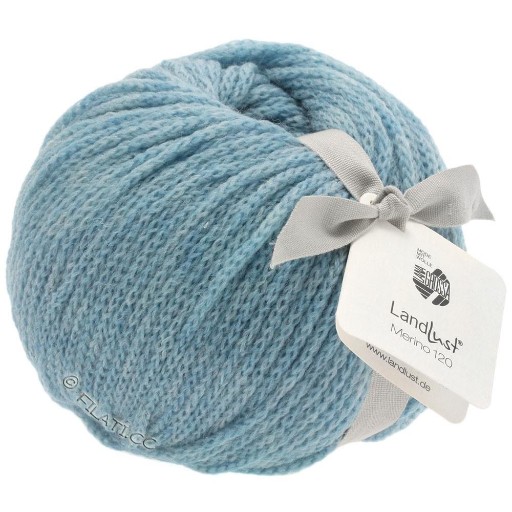 Lana Grossa LANDLUST MERINO 120 | 107-светло-голубой