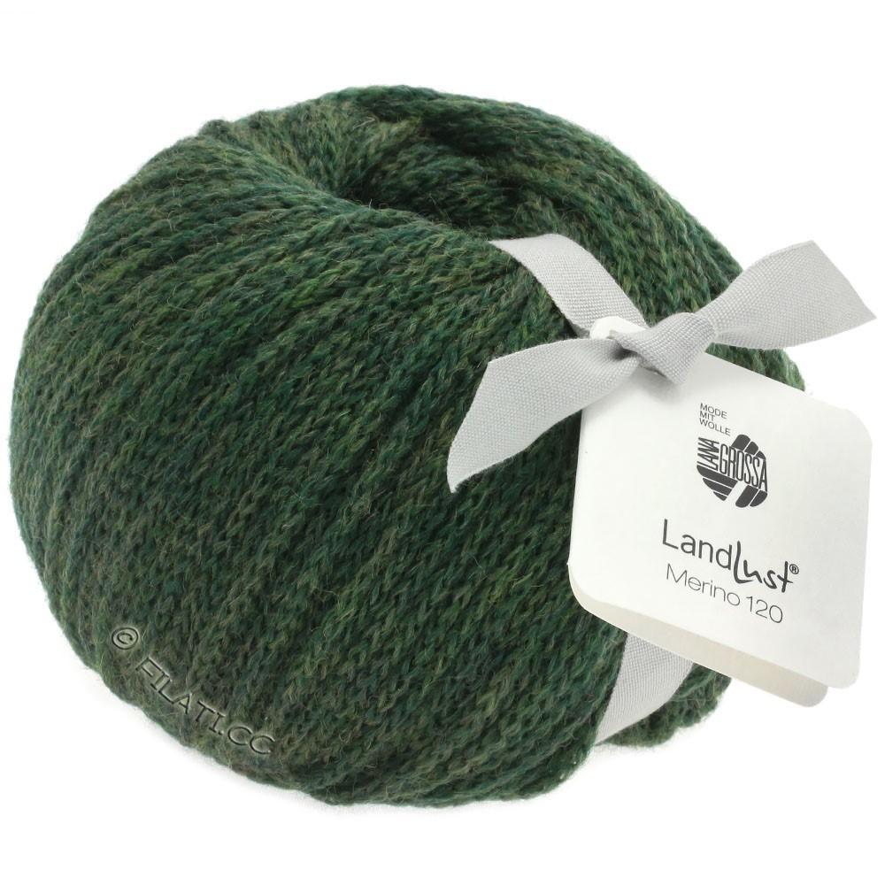 Lana Grossa LANDLUST MERINO 120 | 115-мох зеленый