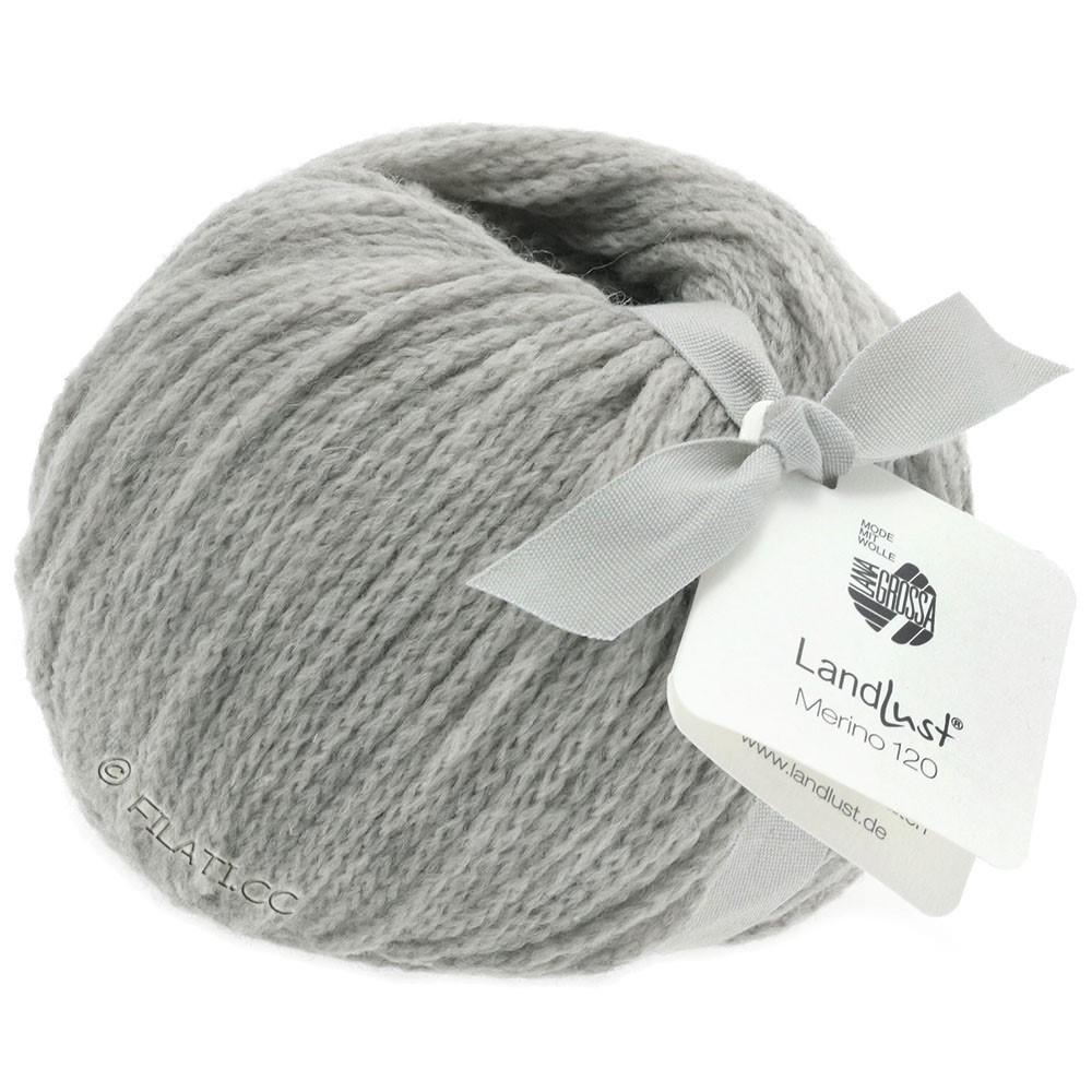 Lana Grossa LANDLUST MERINO 120 | 118-светло-серый