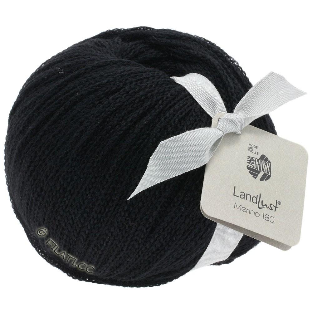Lana Grossa LANDLUST MERINO 180 | 210-чёрный