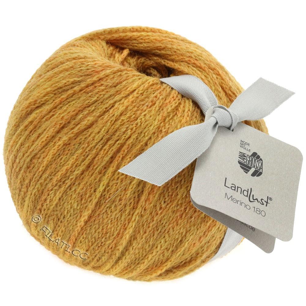 Lana Grossa LANDLUST MERINO 180 | 213-мед желтый