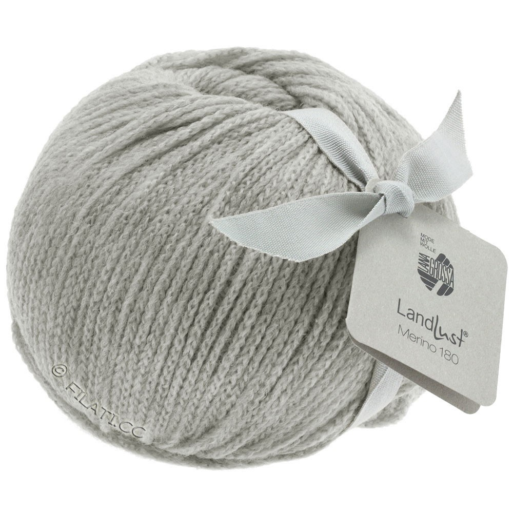 Lana Grossa LANDLUST MERINO 180 | 218-светло-серый