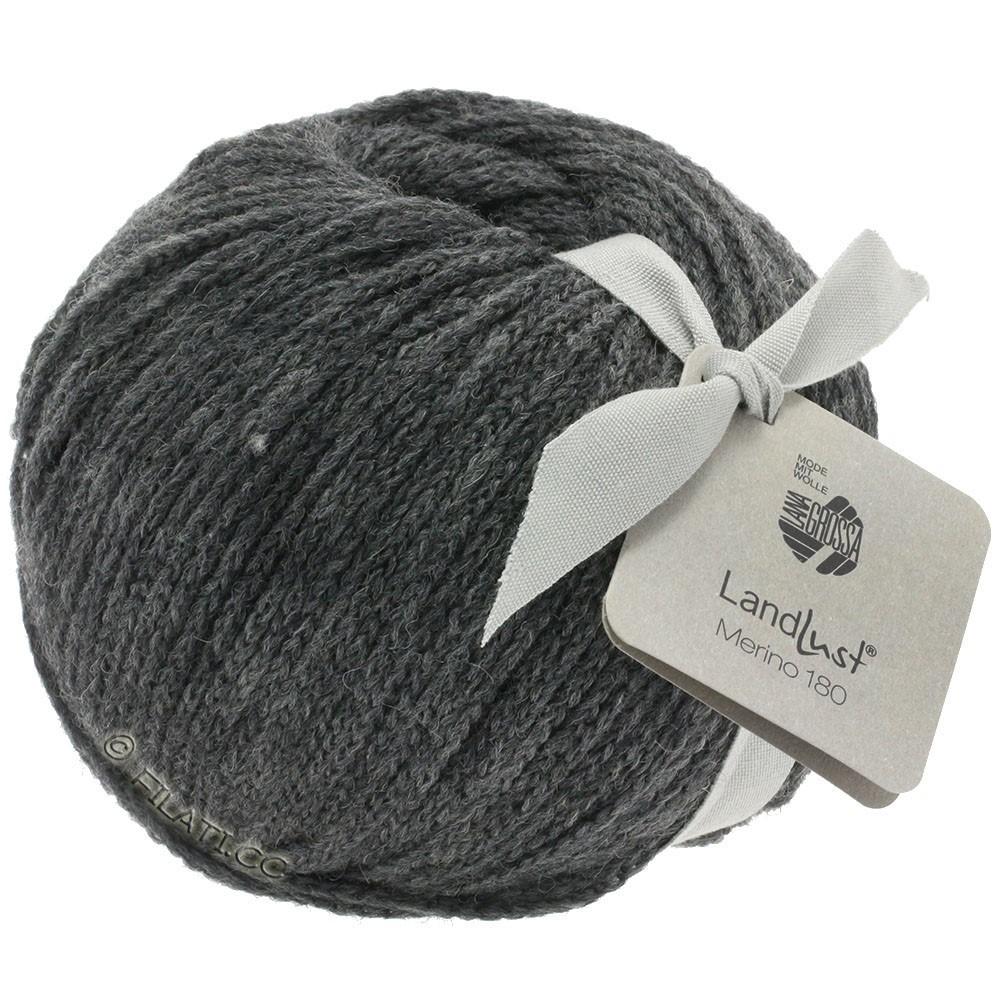 Lana Grossa LANDLUST MERINO 180 | 219-тёмно-серый