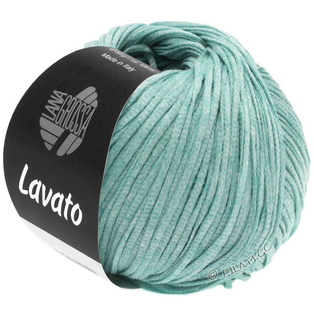 Lana Grossa LAVATO | 02-бирюзовый смешанный