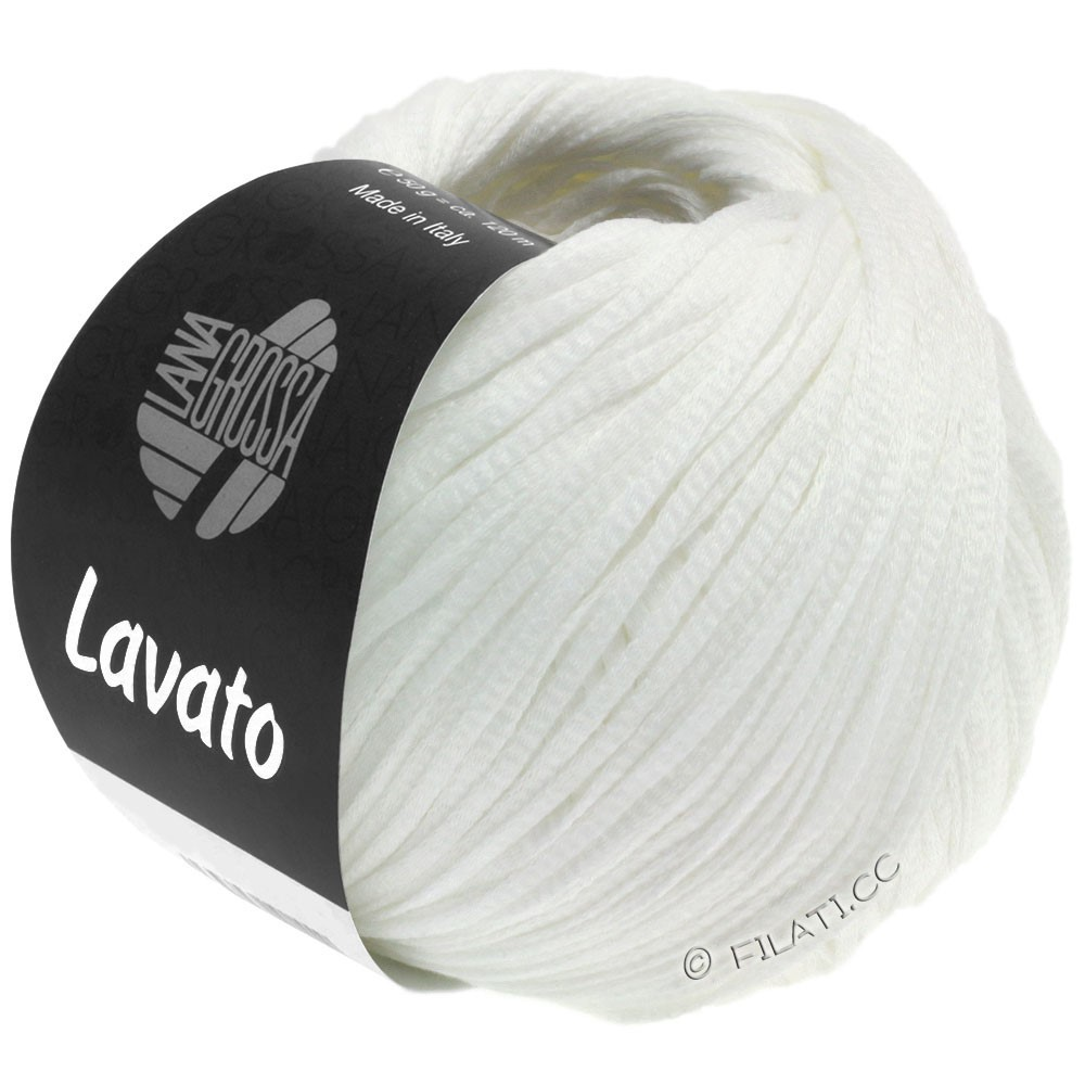 Lana Grossa LAVATO | 08-белый