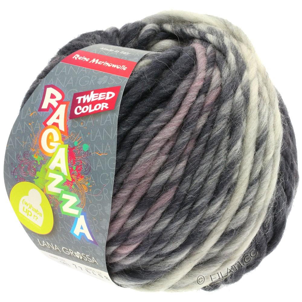 Lana Grossa LEI Tweed Color | 405-светло-серый/средне-серый/тёмно-серый меланжевый
