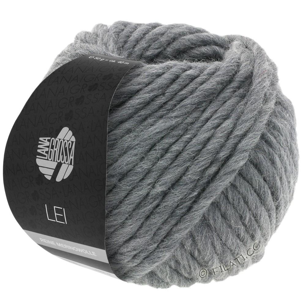 Lana Grossa LEI  Uni/Neon (Ragazza) | 012-тёмно-серый меланжевый