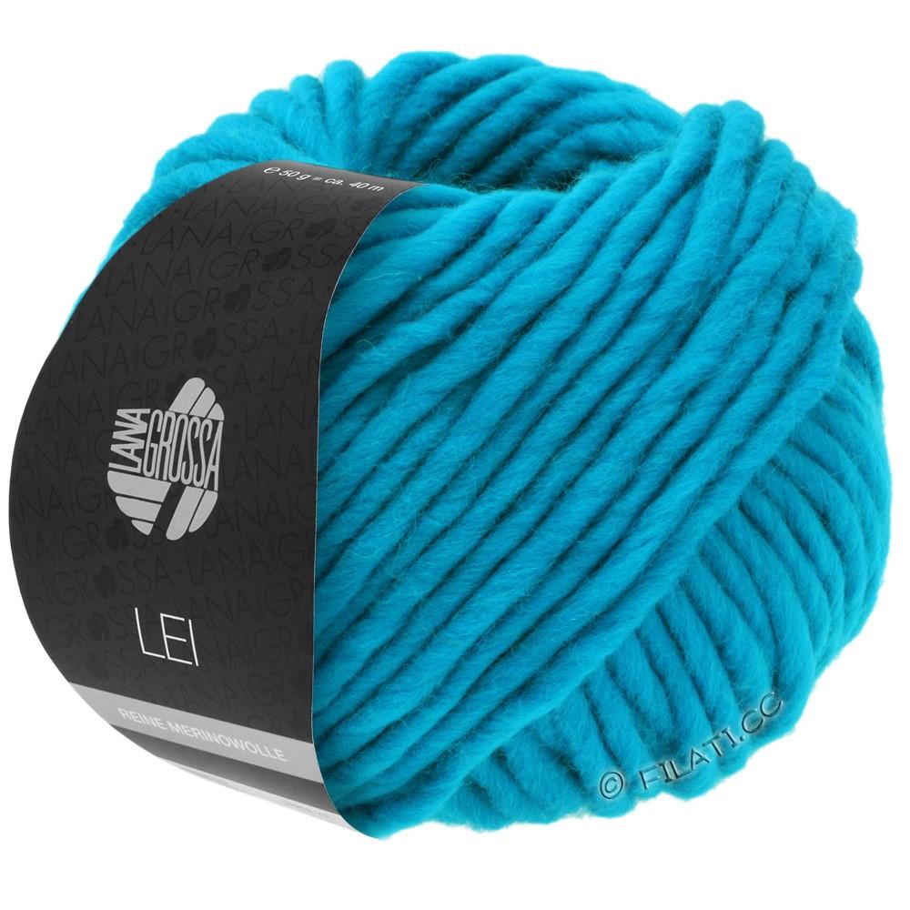 Lana Grossa LEI  Uni/Neon (Ragazza) | 028-сине-бирюзовый