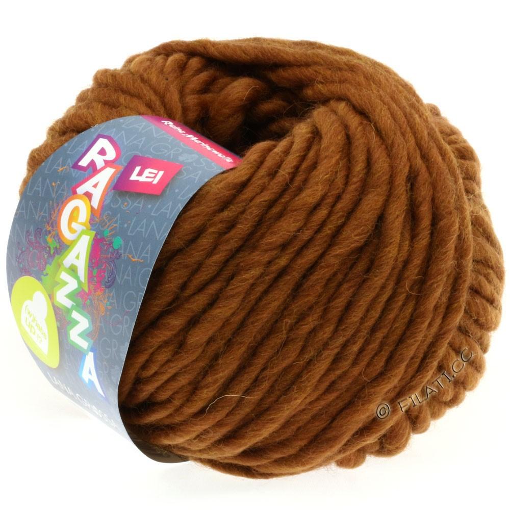 Lana Grossa LEI  Uni/Neon (Ragazza) | 036-коричневый