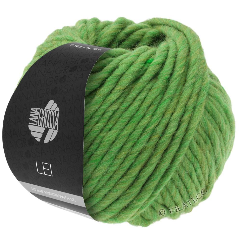 Lana Grossa LEI  Uni/Neon (Ragazza) | 043-зелёный/оливковый меланжевый