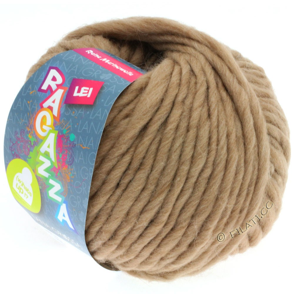 Lana Grossa LEI  Uni/Neon (Ragazza) | 063-песок