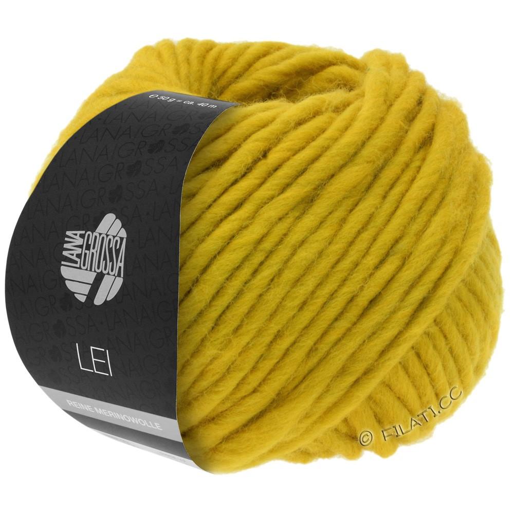 Lana Grossa LEI  Uni/Neon (Ragazza) | 067-желтый шафран