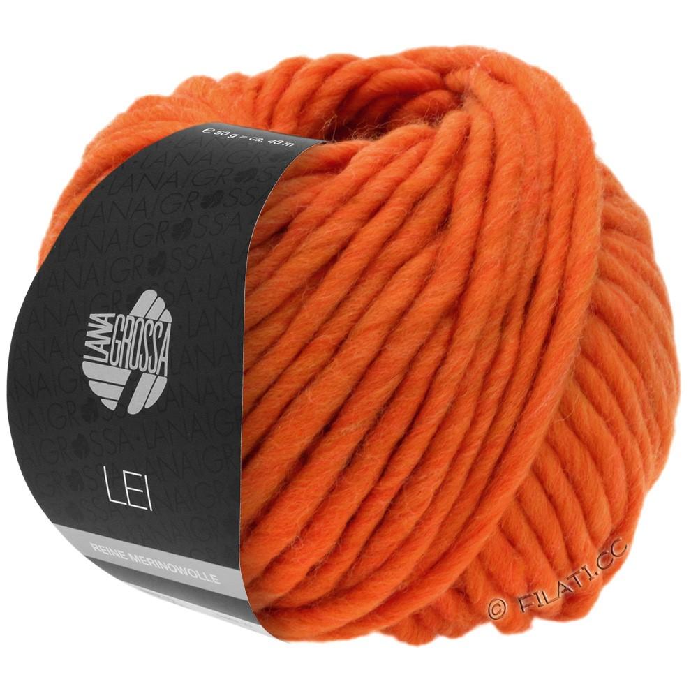 Lana Grossa LEI  Uni/Neon (Ragazza) | 082-оранжевый