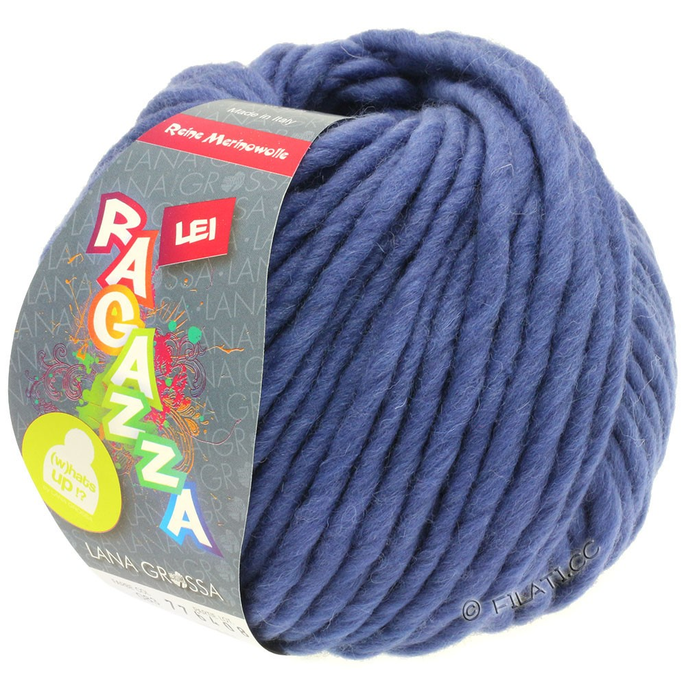 Lana Grossa LEI  Uni/Neon (Ragazza) | 083-синяя фиалка