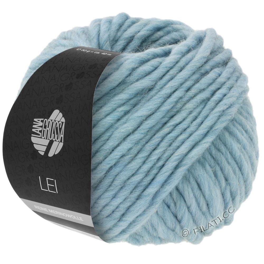 Lana Grossa LEI  Uni/Neon (Ragazza) | 084-светло-голубой/серый