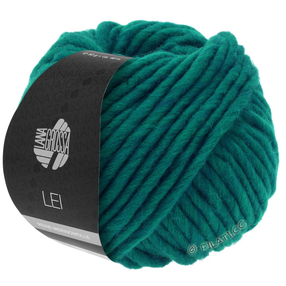 Lana Grossa LEI  Uni/Neon (Ragazza) | 087-сине-зелёный