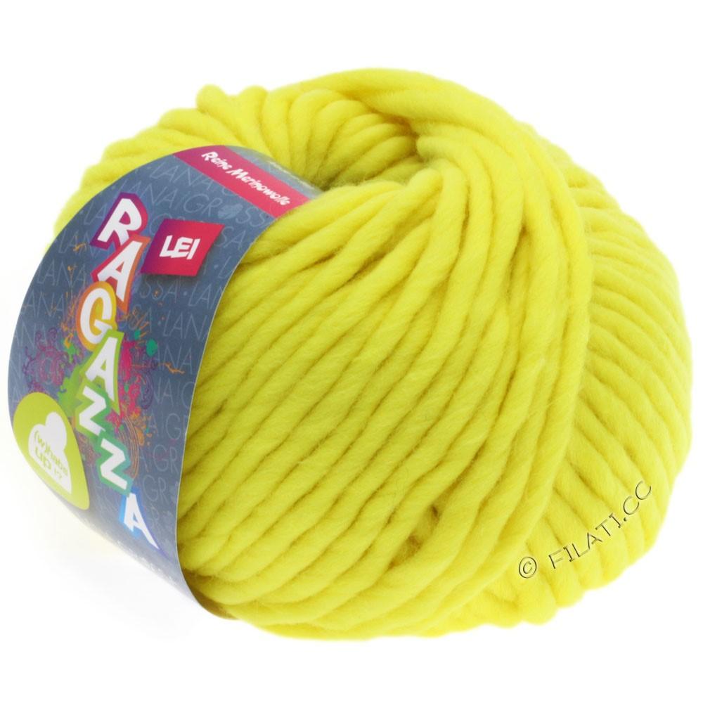 Lana Grossa LEI  Uni/Neon (Ragazza) | 501-неоново-жёлтый