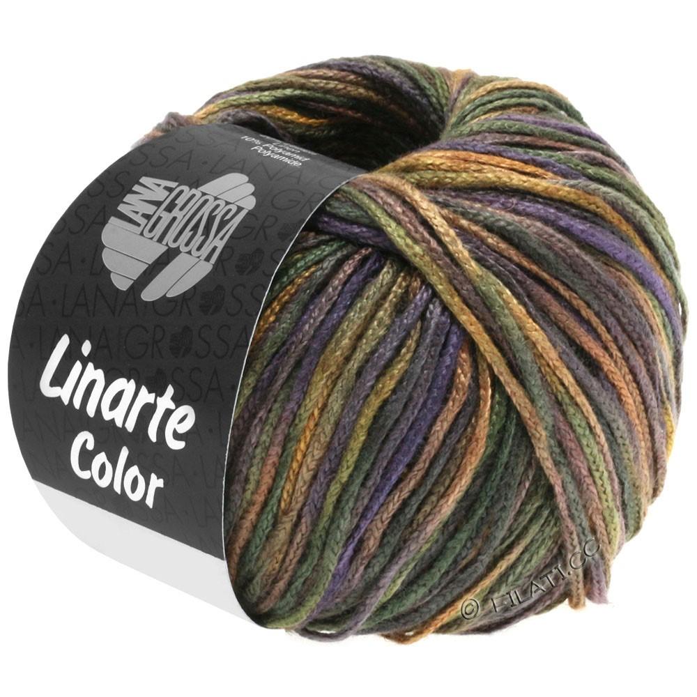 Lana Grossa LINARTE Color | 104-чёрно-зелёный/коричневый/цвет шифера