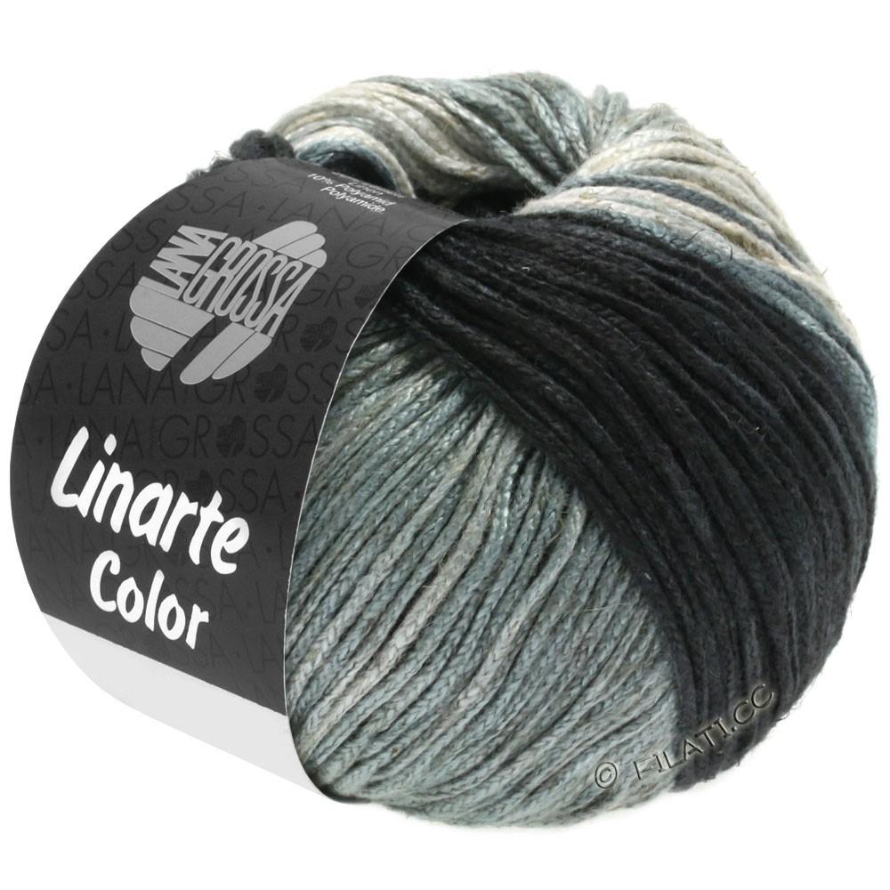 Lana Grossa LINARTE Color | 207-серо-бежевый/серый камень/серый кварц/шифер-серый/антрацитовый