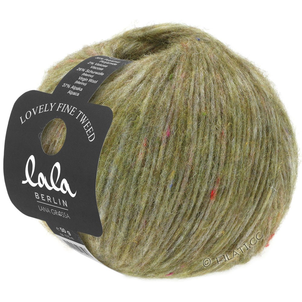 Lana Grossa LOVELY Fine Tweed (lala BERLIN) | 106-оливковый