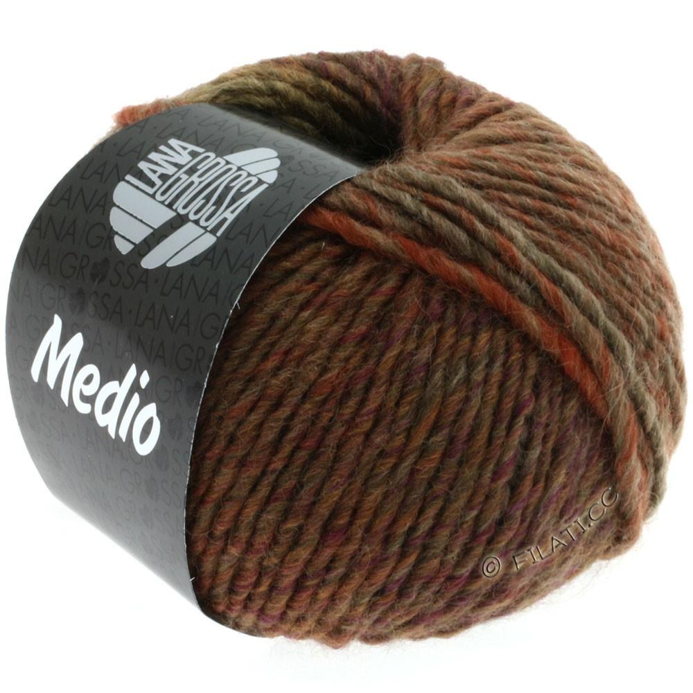 Lana Grossa MEDIO | 05-бежевый/коричневый/цвет ржавчины
