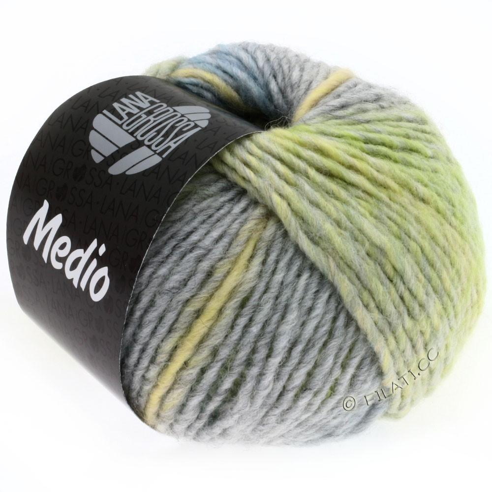 Lana Grossa MEDIO | 19-ванильный/серо-коричневый/серо- бежевый/светло-голубой/серый/пастельно-зелёный