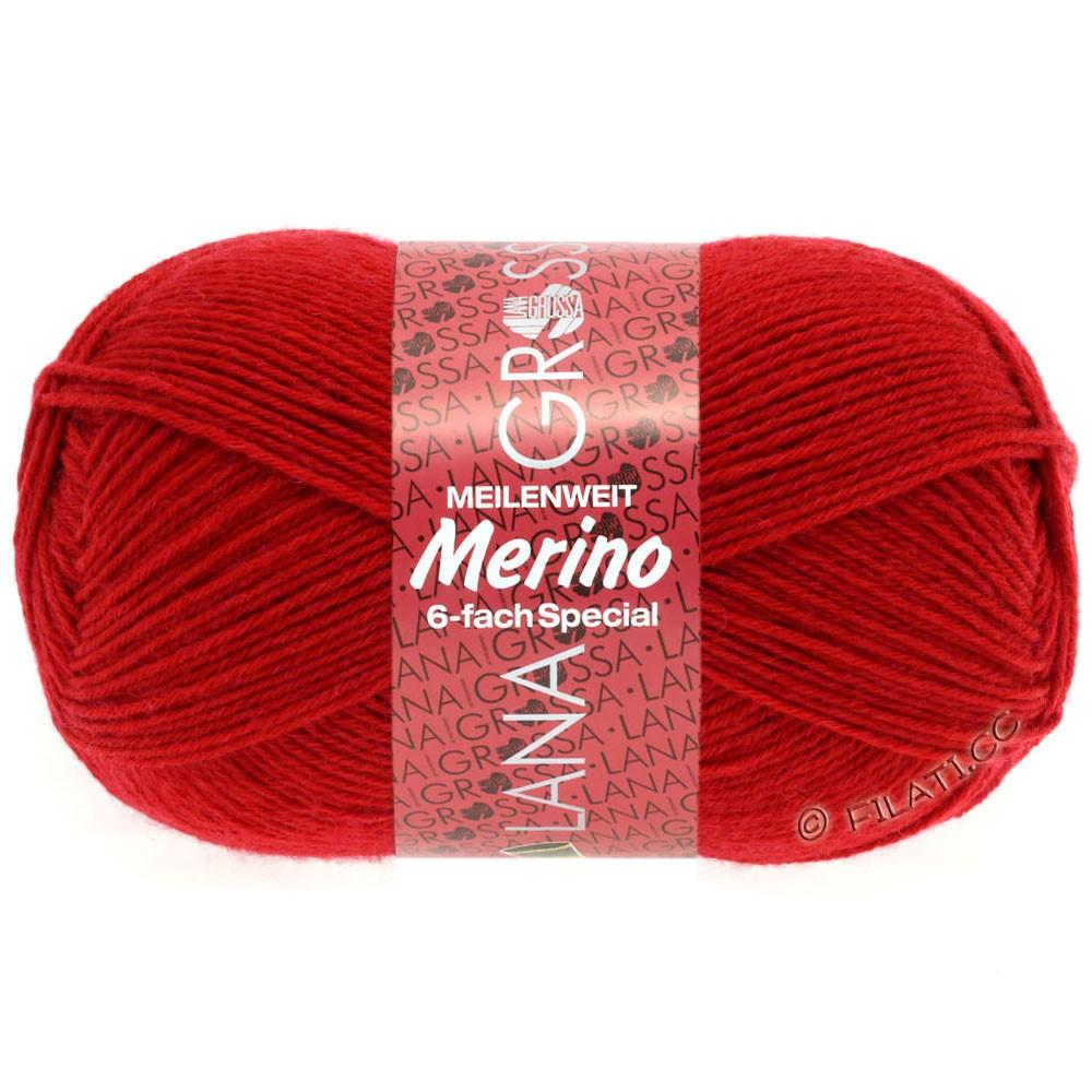 Lana Grossa MEILENWEIT 6-FACH 150g Merino | 1-красный