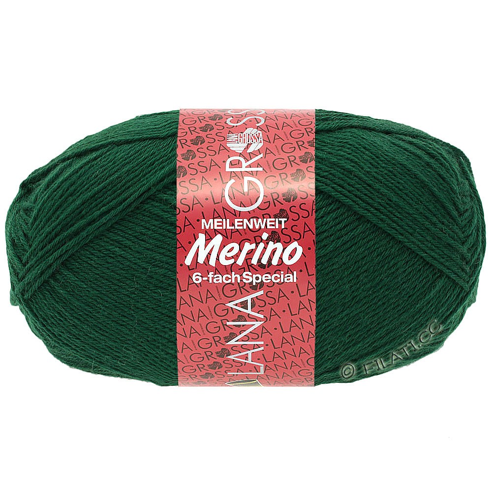 Lana Grossa MEILENWEIT 6-FACH 150g Merino | 4-бутылочный цвет