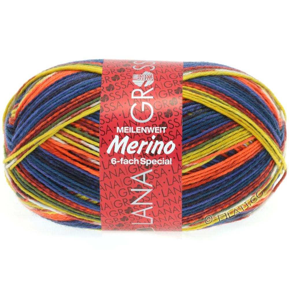 Lana Grossa MEILENWEIT 6-FACH 150g Merino | 9109-