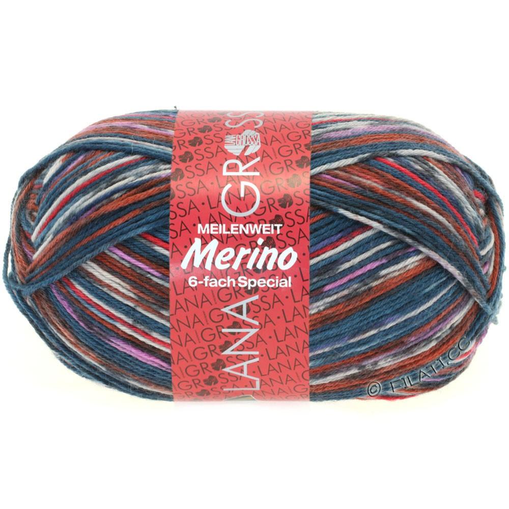 Lana Grossa MEILENWEIT 6-FACH 150g Merino | 9129-