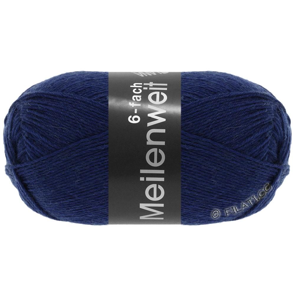 Lana Grossa MEILENWEIT 6-FACH 150g Uni | 8962-тёмно-синий