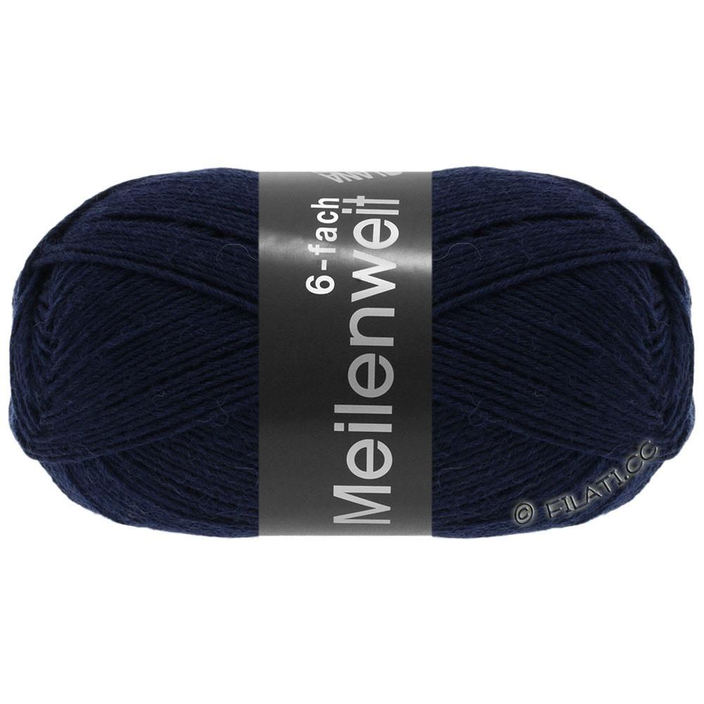 Lana Grossa MEILENWEIT 6-FACH 150g Uni | 8963-тёмно-синий