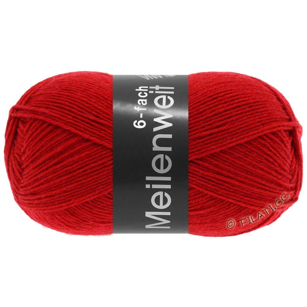 Lana Grossa MEILENWEIT 6-FACH 150g Uni | 8966-красный