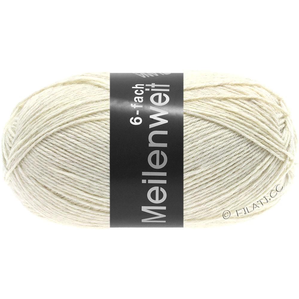 Lana Grossa MEILENWEIT 6-FACH 150g Uni | 9228-натуральный
