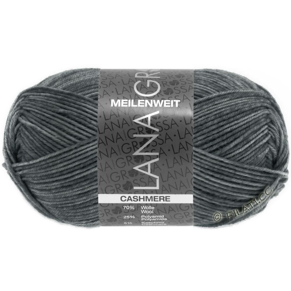 Lana Grossa MEILENWEIT 50g Cashmere | 07-тёмно-серый меланжевый