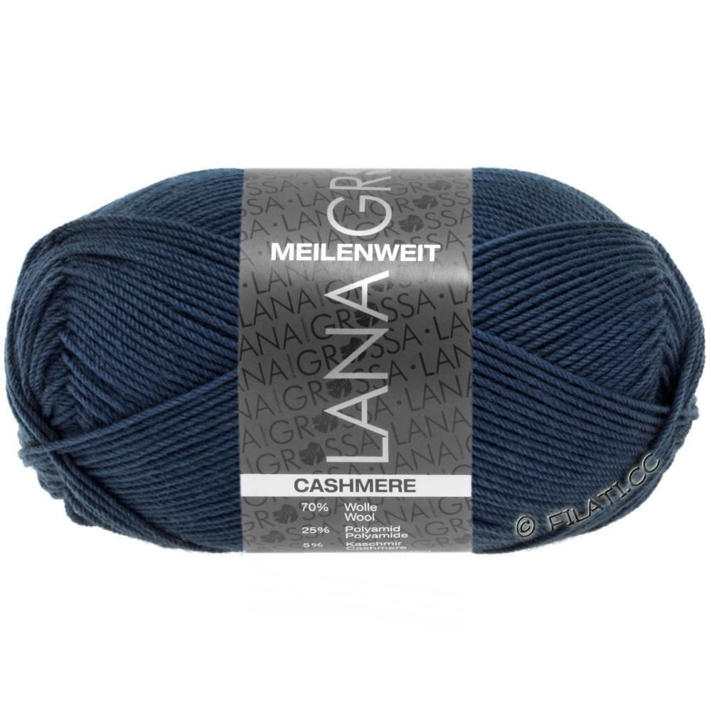 Lana Grossa MEILENWEIT 50g Cashmere | 09-тёмно-синий