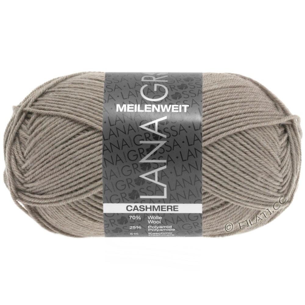 Lana Grossa MEILENWEIT 50g Cashmere | 14-серо-коричневый