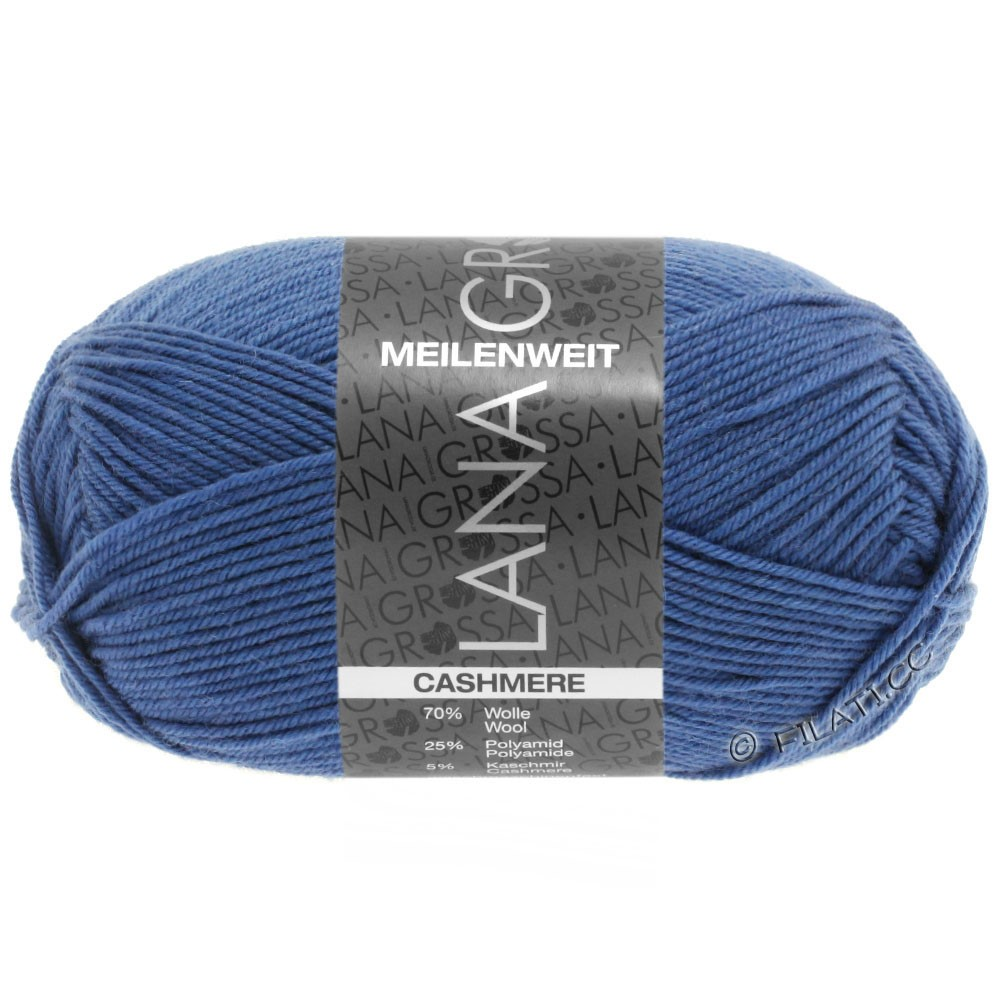 Lana Grossa MEILENWEIT 50g Cashmere | 16-бриллиантовый синий