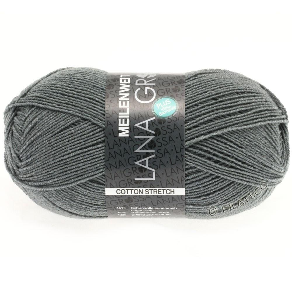 Lana Grossa MEILENWEIT 100г Cotton Stretch | 8011-тёмно-серый
