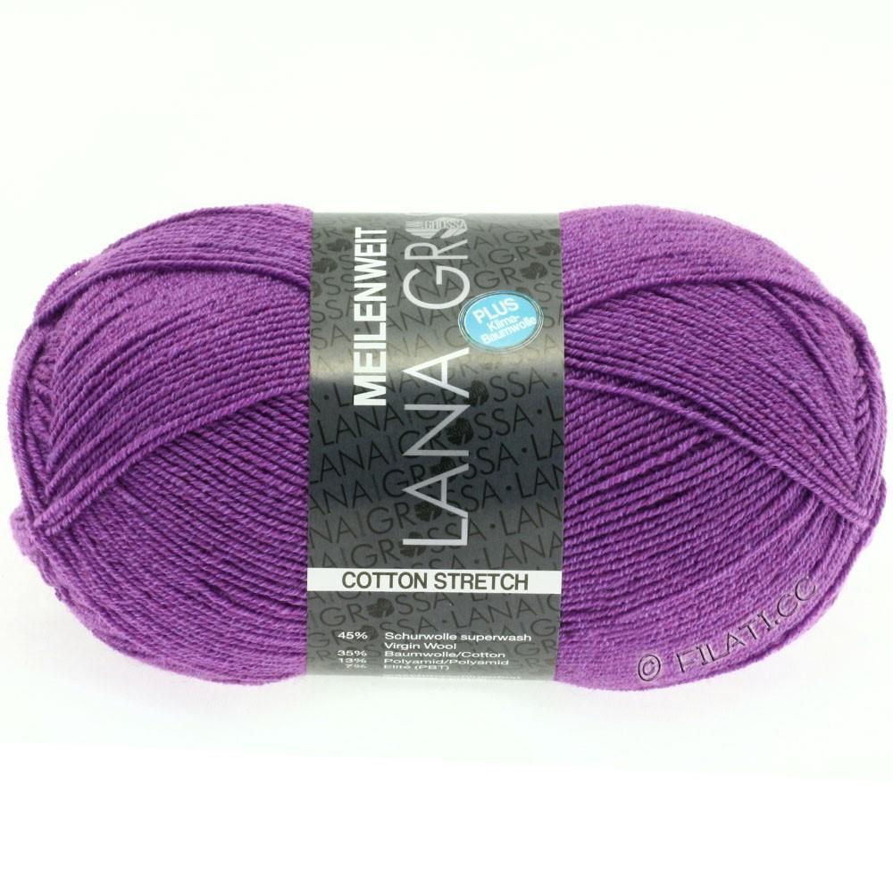 Lana Grossa MEILENWEIT 100г Cotton Stretch | 8037-пурпурный