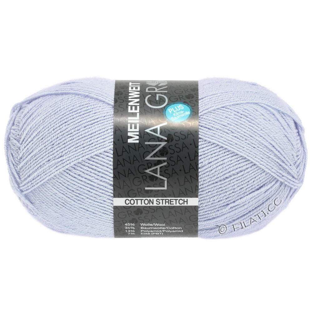 Lana Grossa MEILENWEIT 100г Cotton Stretch | 8042-светло-голубой