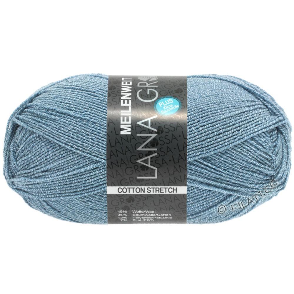 Lana Grossa MEILENWEIT 100г Cotton Stretch | 8051-голубой