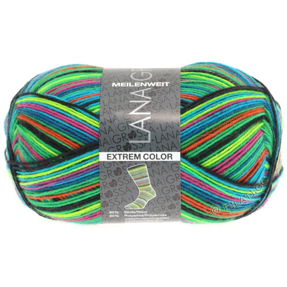 Lana Grossa MEILENWEIT 100g Extrem Color | 4602-