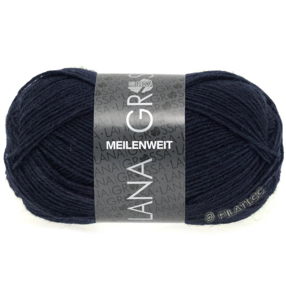 Lana Grossa MEILENWEIT 50g Uni | 1141-тёмно-синий