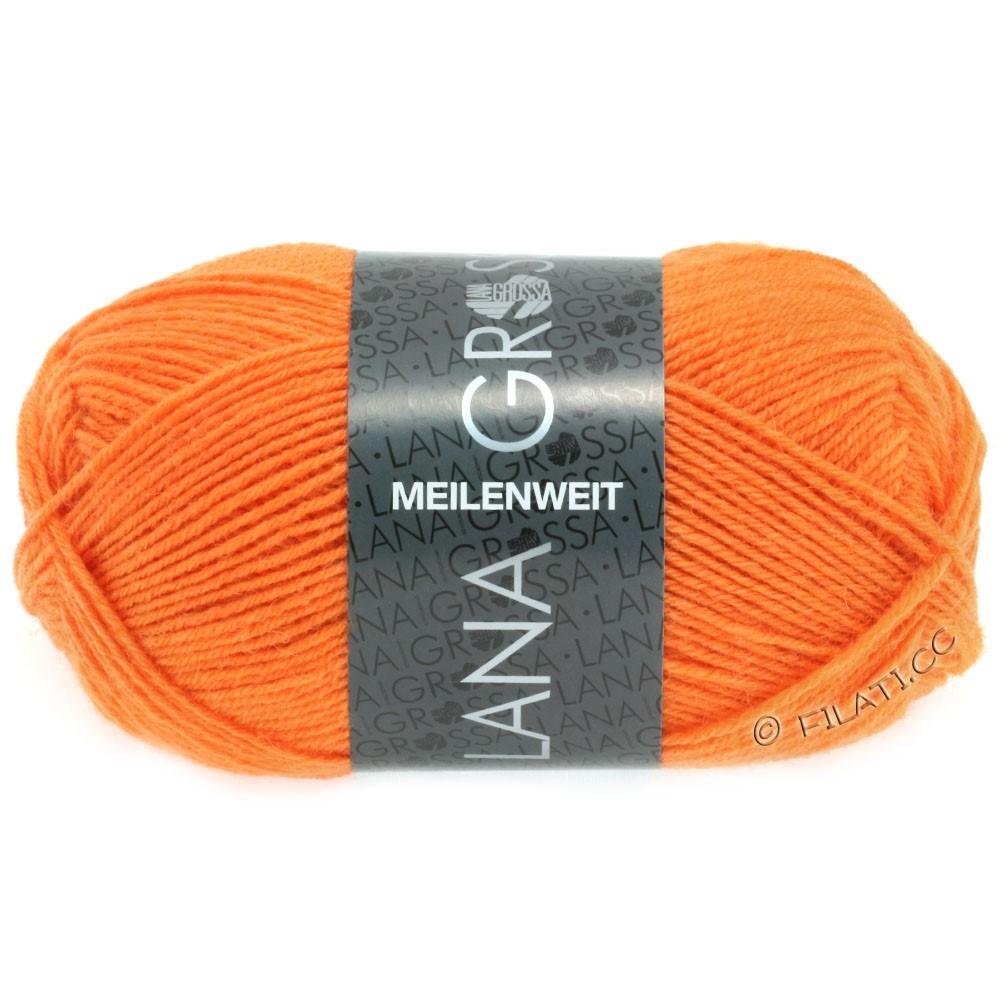 Lana Grossa MEILENWEIT 50g Uni | 1282-оранжевый