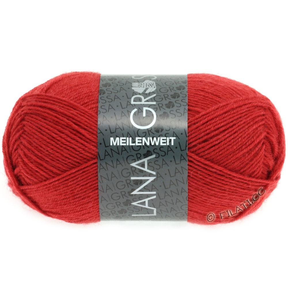 Lana Grossa MEILENWEIT 50g Uni | 1323-тёмно-красный